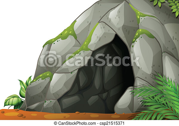cave illustration of a cave rh canstockphoto com cave clip art gif cave clipart download