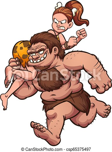 caveman, rapimento - csp65375497