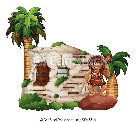 caveman - csp23048814