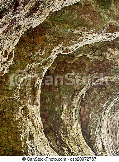 caverna, fluxo - csp20972787