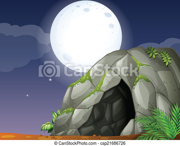 caverne - csp21686726