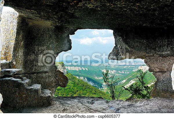 caverne - csp6605377