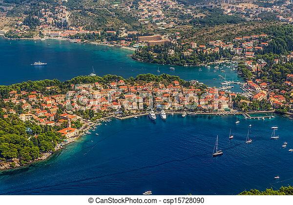 Cavtat, Croatia - csp15728090