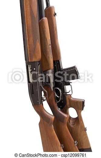 El arma de caza - csp12099761