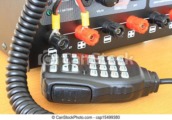 CB radio station - csp15499380