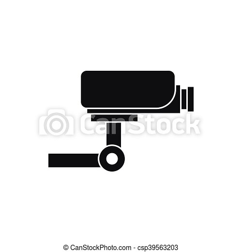 Cctv Camera Icon Simple Style Cctv Camera Icon In Simple Style