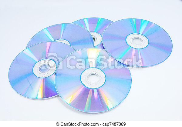 CD, DVD - csp7487069