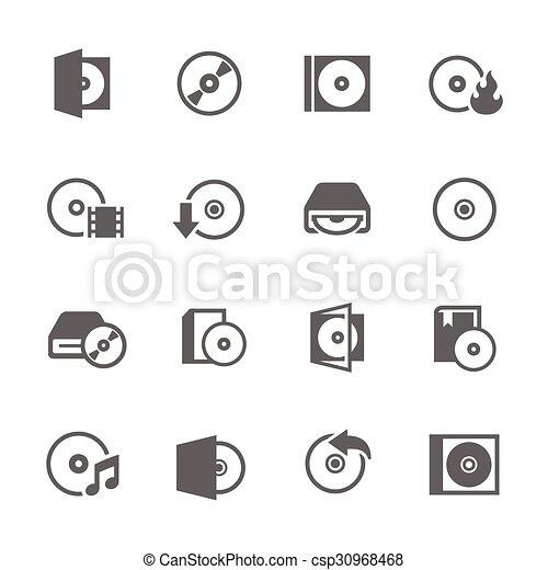 CD Icons - csp30968468