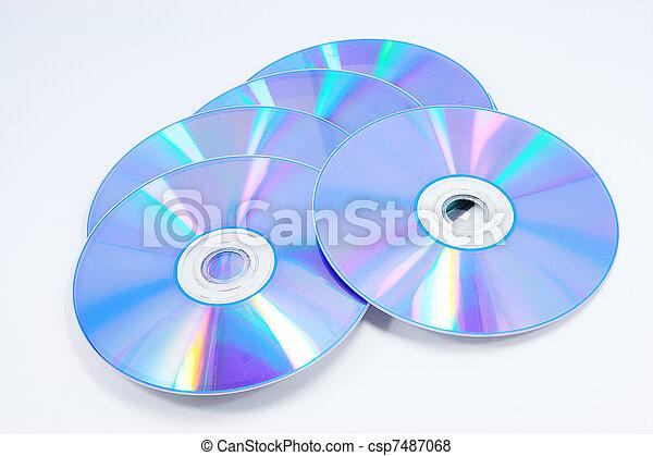 CD, DVD - csp7487068