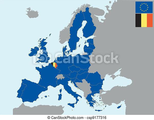CEE belgium - csp9177316