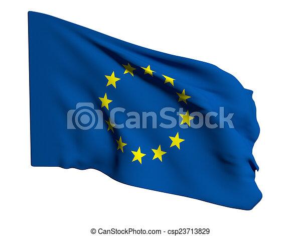 cee flag - csp23713829
