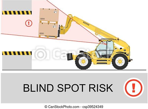 cego, risk., mancha - csp39524349
