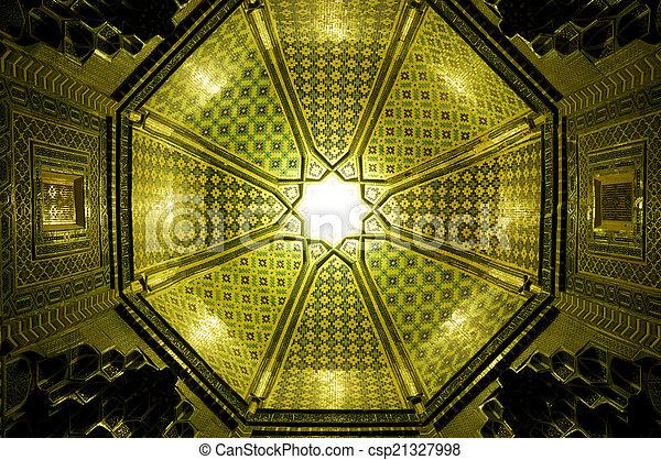 Ceiling in Samarkand - csp21327998