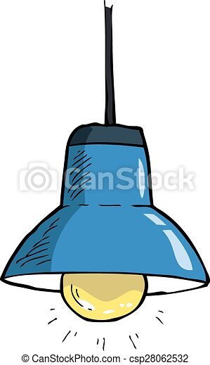 Ceiling Light On A White Background Vector Illustration