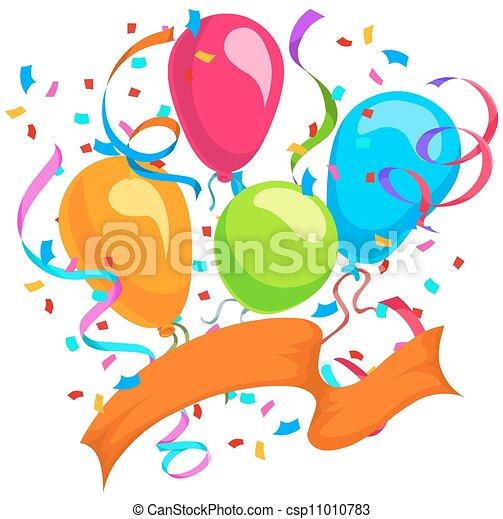 celebração, ilustração - csp11010783
