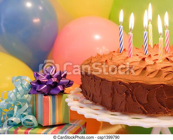 celebración cumpleaños - csp1399790