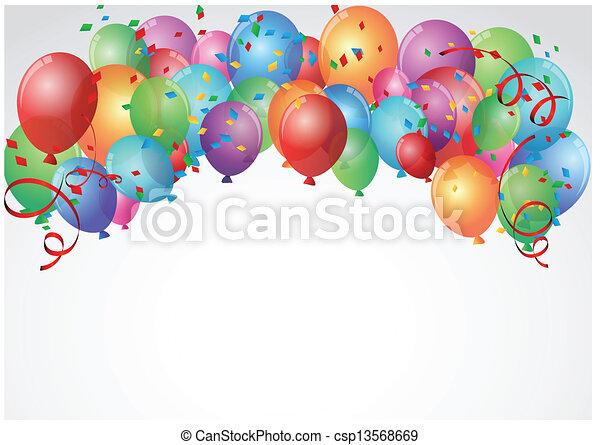 Celebración de cumpleaños - csp13568669