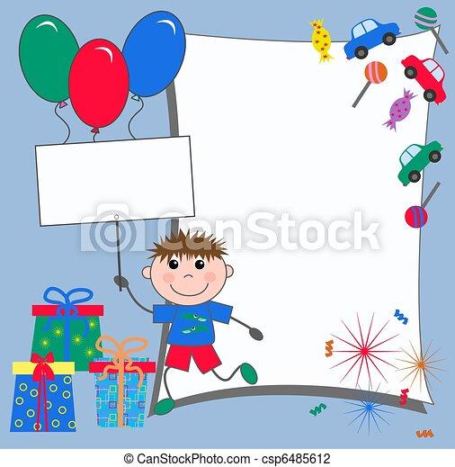 Celebración O Invitación Para Chicos