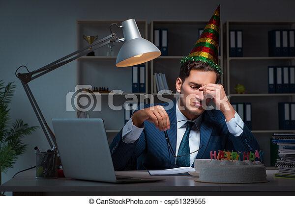 Celebrar Cumpleanos Oficina Hombre Imagenes De Archivo Buscar