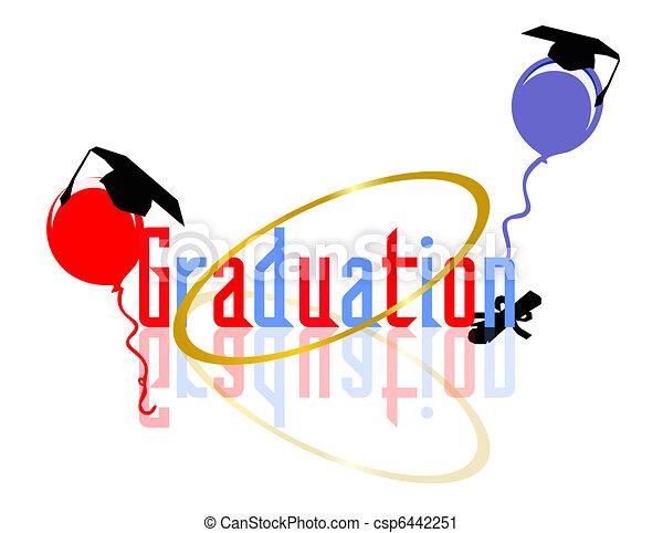 celebrar, graduación - csp6442251