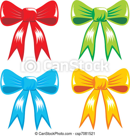 Celebrating color gift ribbon bow celebrating color bows celebrating color gift ribbon bow csp7081521 negle Image collections