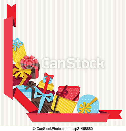celebration background or card with colorful gift boxes vector rh canstockphoto ie gift cards clip art gift card clipart images
