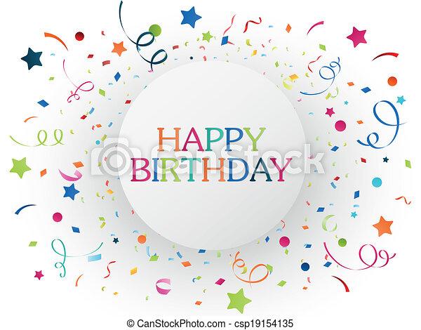 celebrazione compleanno - csp19154135