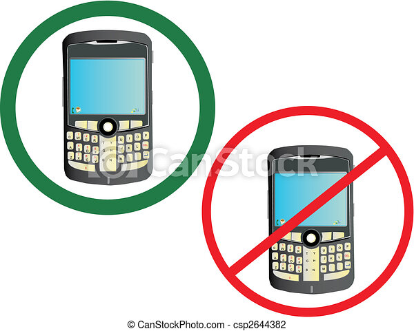 Cell phone usage - csp2644382
