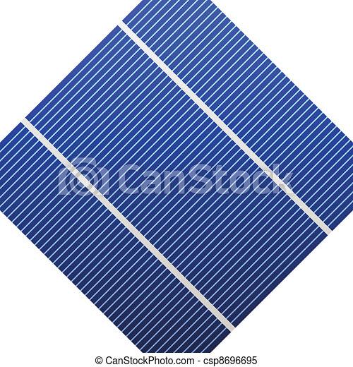 cell, photovoltaic, vektor - csp8696695