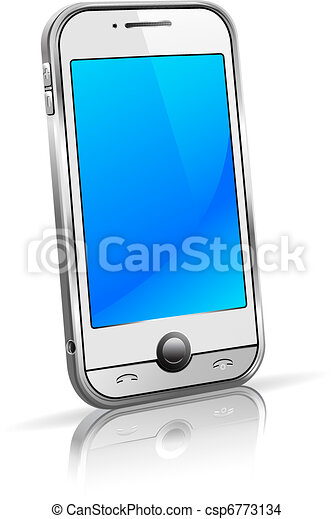 Cell Smart Phone Mobile 3D - csp6773134