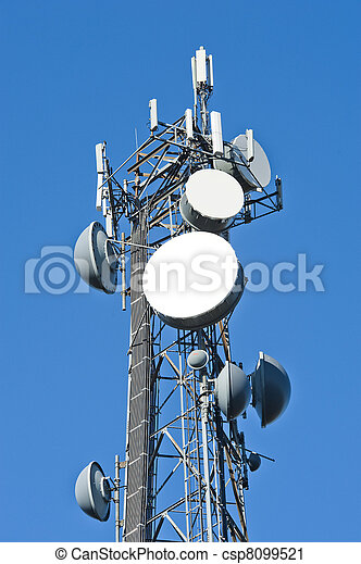 Cell tower - csp8099521