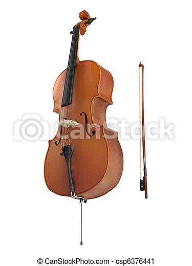 Cello Neposkvrneny Osamoceny Graficke Pozadi