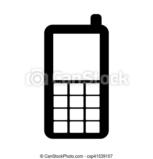 obsolete cell phones clipart and stock illustrations you ll love rh canstockphoto ca Cell Phone Graphic Cell Phone Art