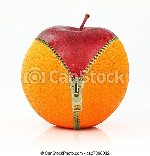 cellulite, régime, contre, fruits - csp7308032