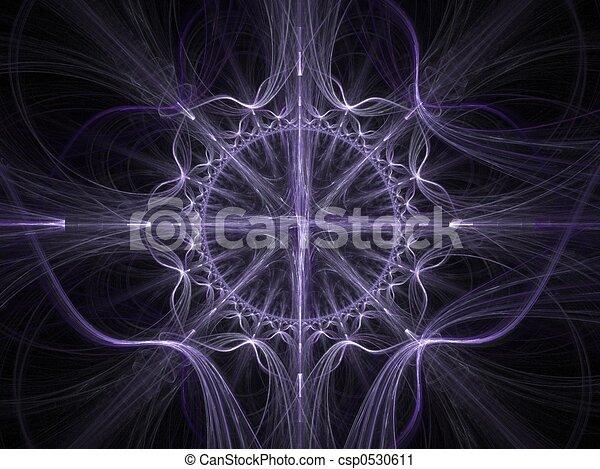 Celtic art fractal - csp0530611