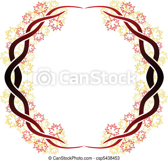 Celtic branch ring - csp5438453