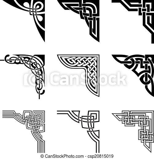 celtic corners set - csp20815019
