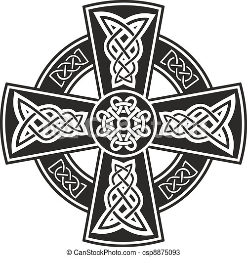 Celtic cross - csp8875093