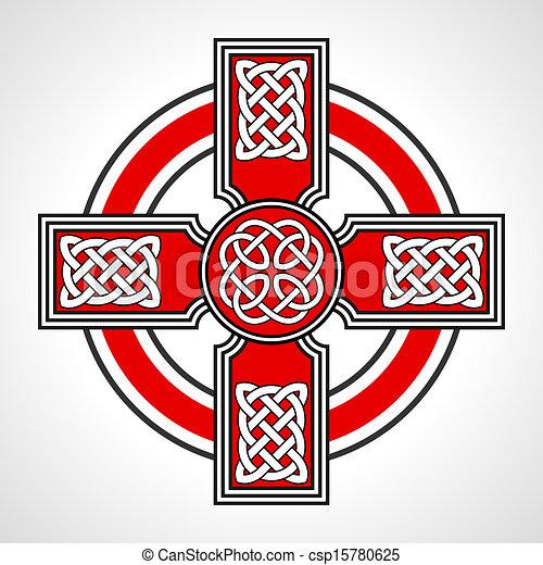 Celtic cross - csp15780625