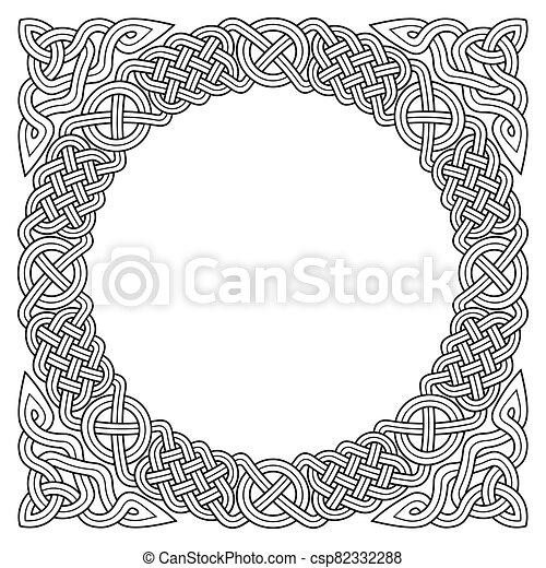 Celtic frame - csp82332288