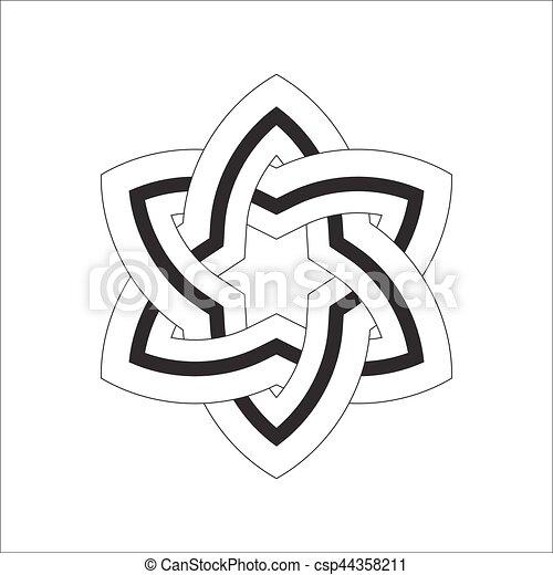Celtic Irish Patterns And Braids Vector Custom Irish Patterns
