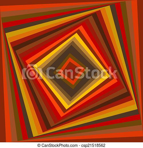 celtic knot pattern card, mandala, amulet - csp21518562