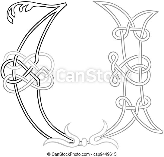 Script U Illustrations And Clipart 995 Script U Royalty Free