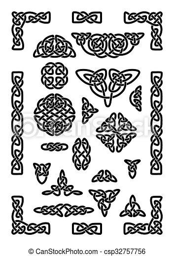 Celtic Knots Collection - csp32757756