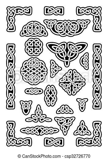 Celtic Knots Collection - csp32726770