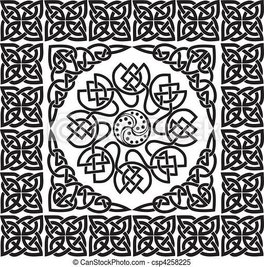 Celtic ornament - csp4258225