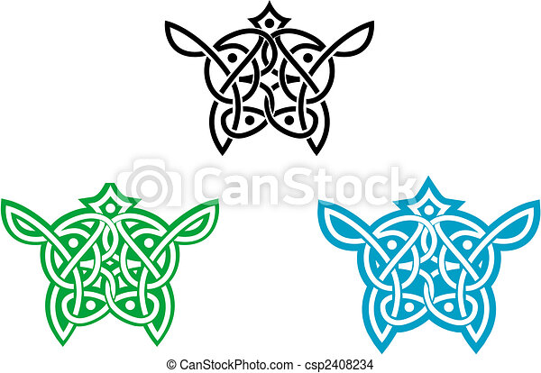 Celtic ornament - csp2408234