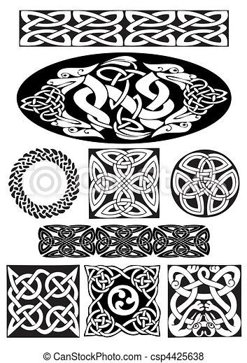 Celtic ornament. - csp4425638