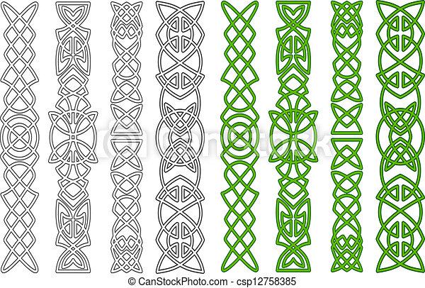 Celtic ornaments and elements - csp12758385