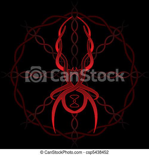 Celtic spider - csp5438452